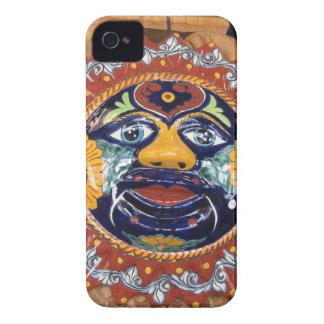 Mexican Talavera style sun iPhone 4 Cases