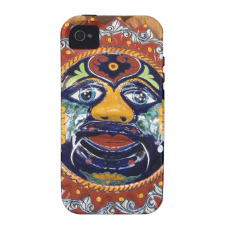 Mexican Talavera style sun Vibe iPhone 4 Cases