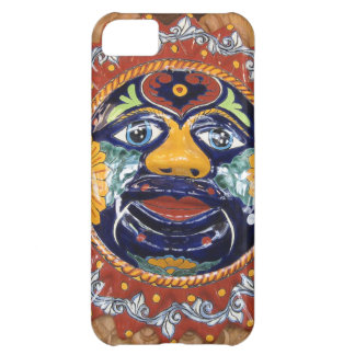 Mexican Talavera style sun Cover For iPhone 5C