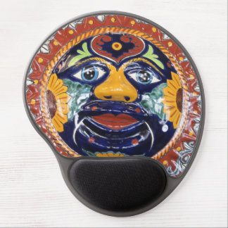 Mexican Talavera style sun Gel Mouse Mat
