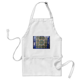 Mexican Talavera style tiles Adult Apron