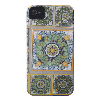 Mexican Talavera style tiles iPhone 4 Cases