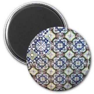 Mexican Talavera tile design Magnet
