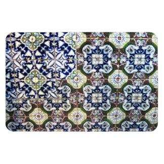 Mexican Talavera tile design Vinyl Magnet