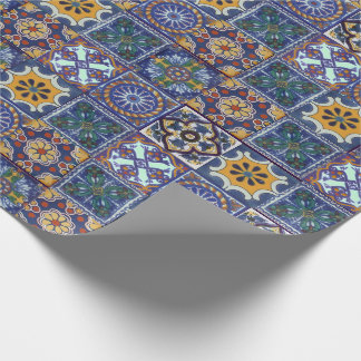 Mexican Talavera Tiles Wrapping Paper