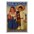 Mexican travel poster