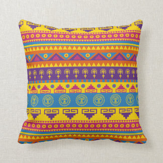 Mexican tribal style pillow
