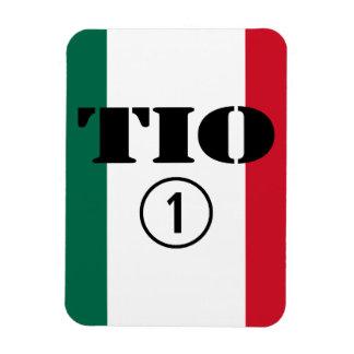 Mexican Uncles Tio Numero Uno Flexible Magnet
