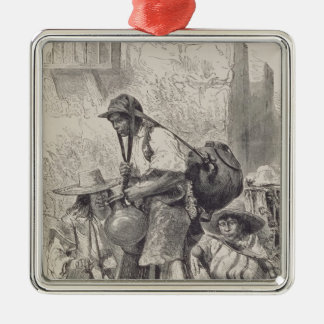 Mexican Water-Carrier Christmas Ornament