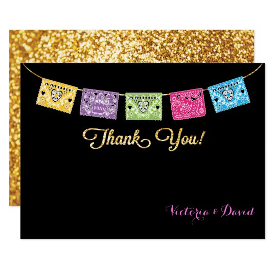 Mexican Wedding RSVP Card