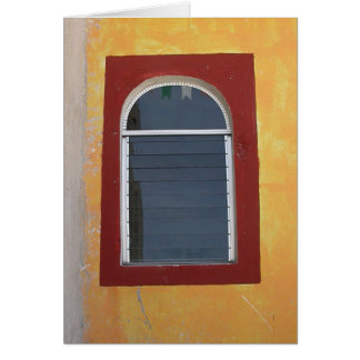 Mexican Window Greeting Card