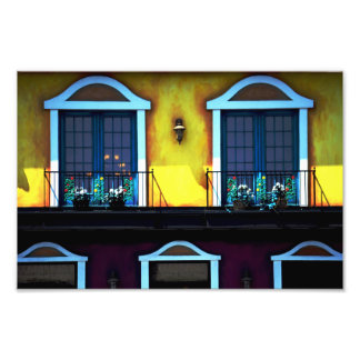 Mexican Windows Photograph