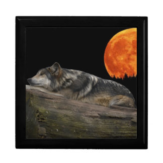 Mexican Wolf & Moon Gift Box
