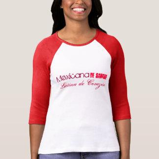 Mexicana de Sangre Latina de Corazón T-Shirt