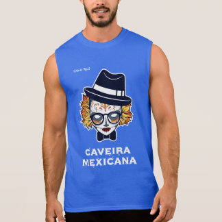 Mexicana skull sleeveless shirt