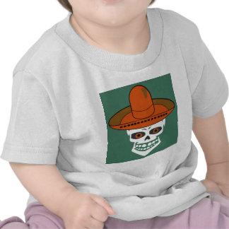MEXICANA SKULL TEE SHIRTS