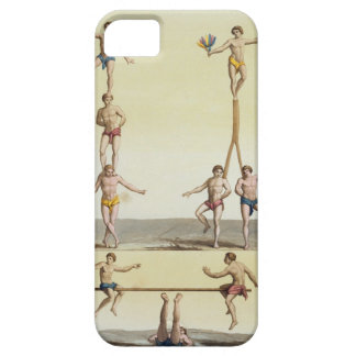 Mexicans Performing Gymnastics (colour litho) iPhone 5 Cases