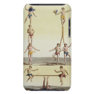 Mexicans Performing Gymnastics (colour litho) iPod Touch Covers