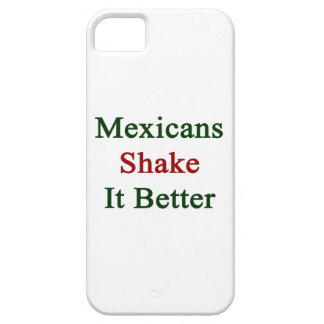 Mexicans Shake It Better iPhone 5 Covers