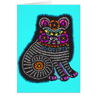 Mexicat Greeting Card