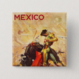 Mexico 15 Cm Square Badge