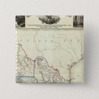 Mexico 4 15 cm square badge