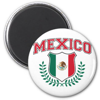 Mexico 6 Cm Round Magnet