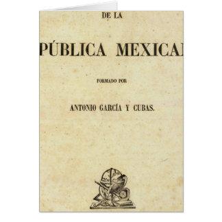 Mexico 7 card