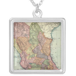 Mexico 7 silver plated necklace