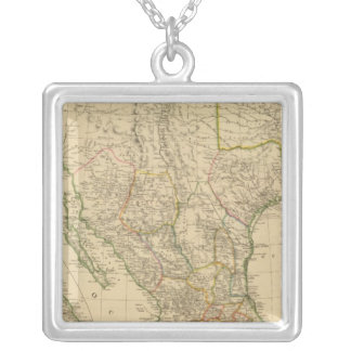 Mexico 8 silver plated necklace