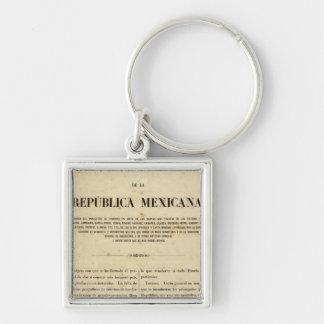 Mexico 9 key ring