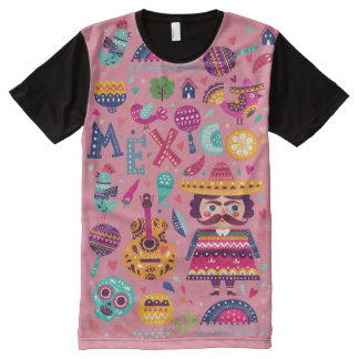 Mexico All-Over Print T-Shirt