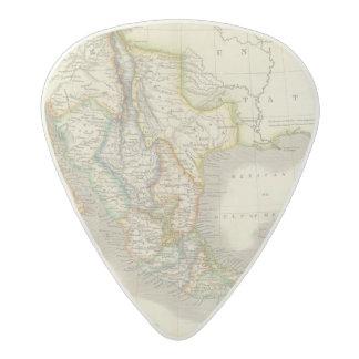 Mexico and Guatamala Acetal Guitar Pick