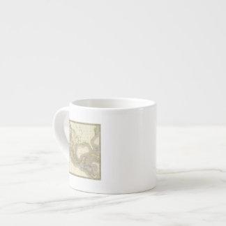 Mexico and Guatamala Espresso Cup
