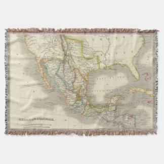 Mexico and Guatamala Throw Blanket