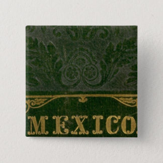 Mexico and Guatemala 15 Cm Square Badge