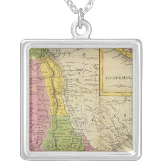 Mexico and Guatemala 2 Silver Plated Necklace
