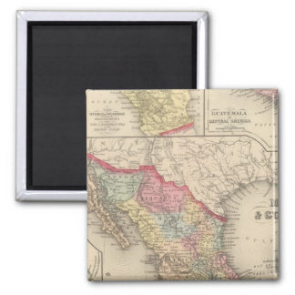 Mexico and Guatemala 4 Magnet