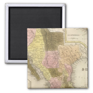 Mexico and Guatemala 5 Magnet