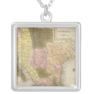 Mexico and Guatemala 5 Silver Plated Necklace