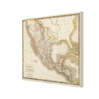 Mexico and Guatemala Canvas Print