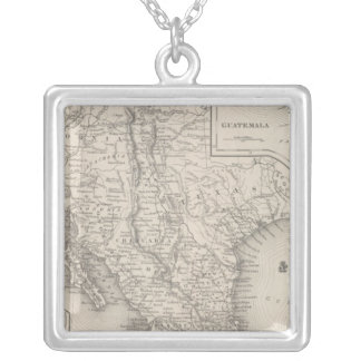 Mexico and Guatemala Silver Plated Necklace