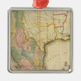 Mexico and United States Christmas Ornament