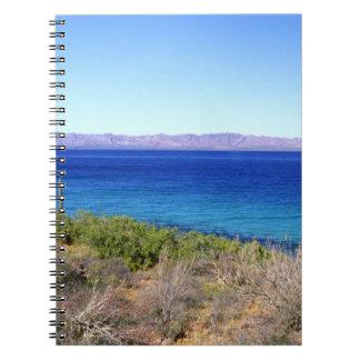 Mexico, Baja California Sur, Mulege, Bahia 2 Notebooks