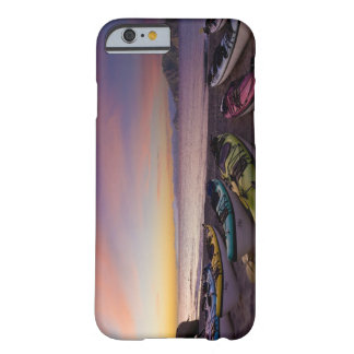 Mexico, Baja, Sea of Cortez. Sea kayaks and Barely There iPhone 6 Case