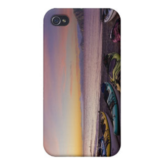 Mexico, Baja, Sea of Cortez. Sea kayaks and iPhone 4/4S Covers