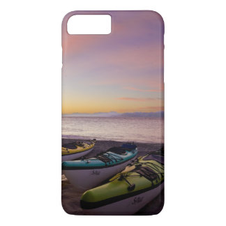 Mexico, Baja, Sea of Cortez. Sea kayaks and iPhone 7 Plus Case