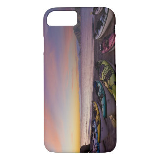 Mexico, Baja, Sea of Cortez. Sea kayaks and iPhone 8/7 Case