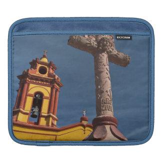 Mexico, Bernal. View of Iglesia de San Sebastian Sleeve For iPads
