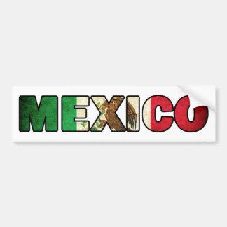 Mexico Bumper Sticker Car Bumper Sticker